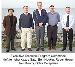 left to right: Kazuo Sato, Ben Hocker, Roger Howe, Tom Kenny, Gilles Delapierre